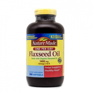 Dầu Hạt Lanh Nature Made Flaxseed Oil Omega 3-6-9