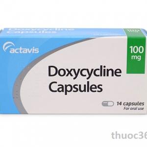 Thuốc doxycycline 100mg