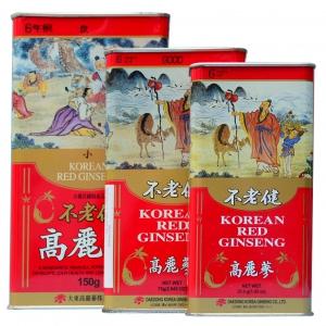 Hồng Sâm Củ Khô Hộp Thiếc Hàn Quốc