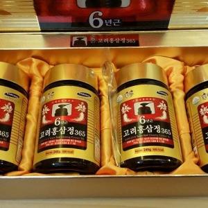 Cao hồng sâm Hàn Quốc 365 hộp 4 lọ