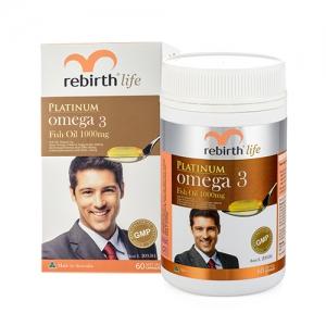 Viên uống dầu cá Fish Oil Omega3 Rebirth Life