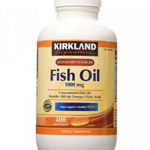 Tinh dầu cá Omega 3 Kirkland