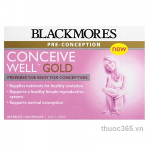 Thuốc BLACKMORES CONCEIVE WELL GOLD