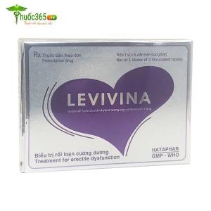 Levivina – Điều Trị Rối Loạn Cương Dương Ở Nam Giới