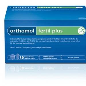 Orthomol Fertil plus – Bổ Tinh Trùng