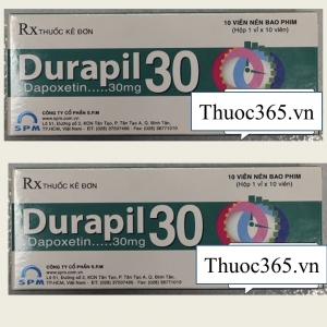 Thuốc Durapil 30mg (Dapoxetin 30mg) – Điều trị xuất tinh sớm