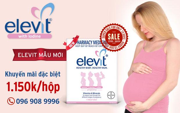 Elevit - Sản phẩm dành cho bà bầu xuất xứ Úc