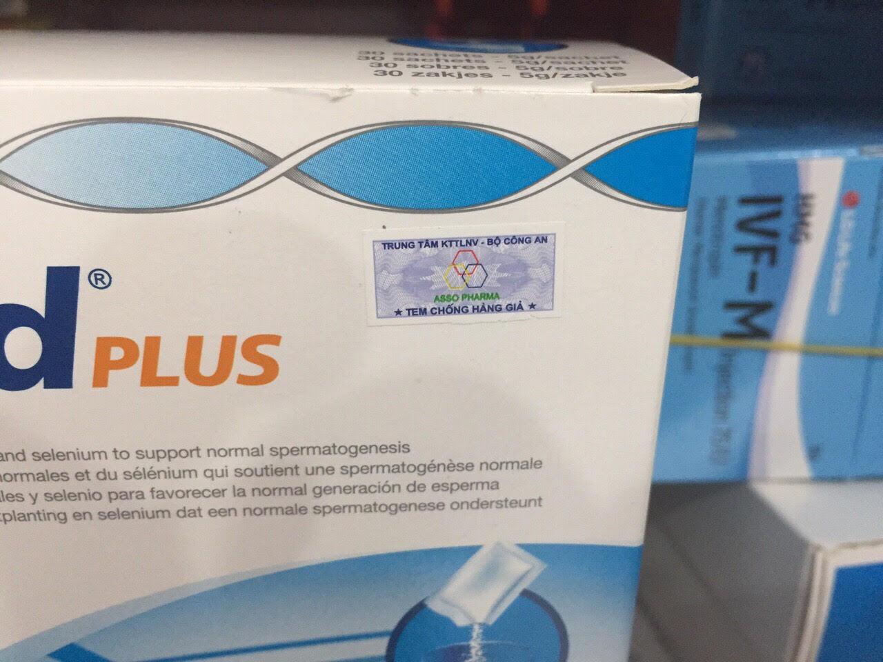 Tem chống hàng giả của thuốc proxeed plus