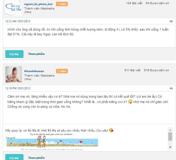 Hình ảnh 6: review về thuốc proxeed plus trên webtretho