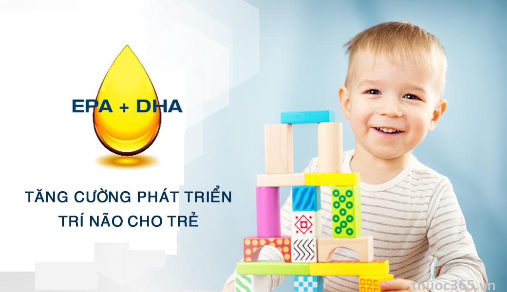 Nataluc cung cấp đầy đủ dưỡng chất cần thiết cho sự phát triển của trẻ