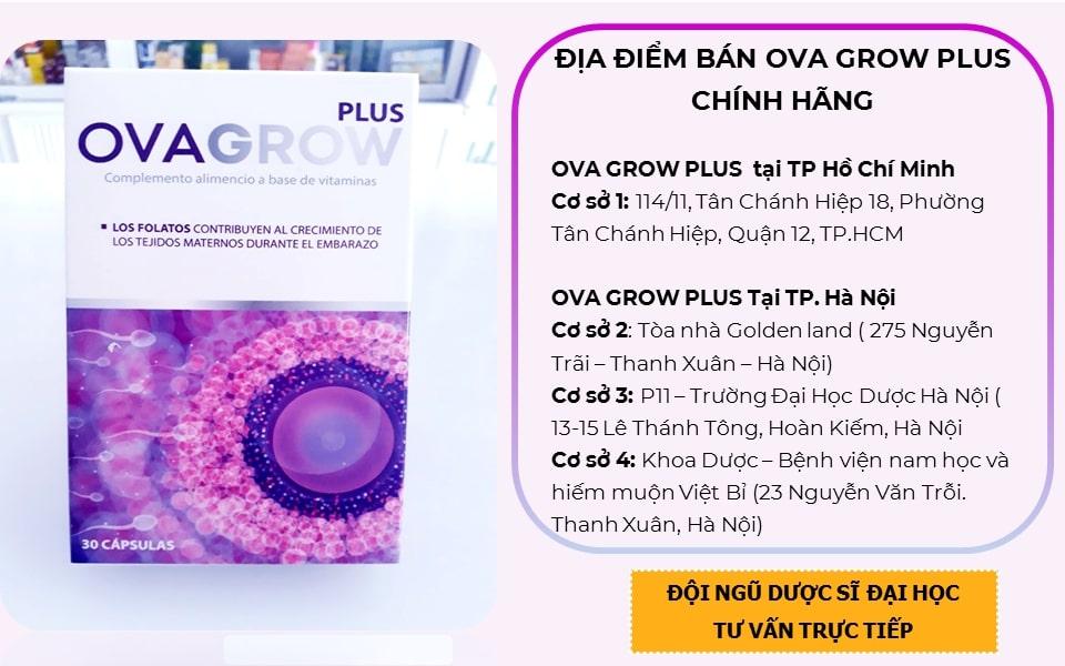 Ovagrow PluS bán ở đâu