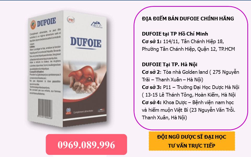 Bán thuốc bổ gan DUFOIE