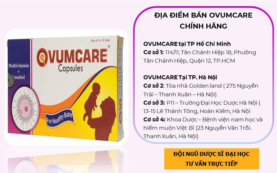 Thuốc Ovumcare mau ở đâu