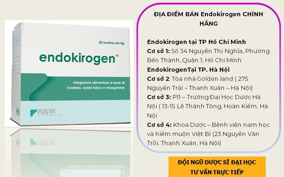 thuốc Endokirogen bán ở đâu