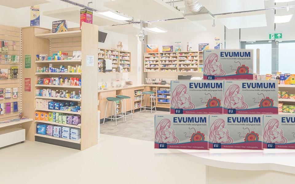 Evumum điều trị vô sinh hiến muộn ở nữ giới